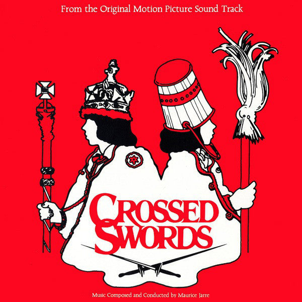 Maurice Jarre - Crossed Swords (Original Motion Picture) - Mint- 1978 Stereo Promo USA - Soundtrack