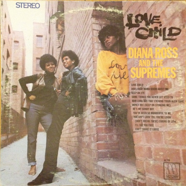 Diana Ross And The Supremes ‎- Love Child - VG Stereo 1968 USA - Funk / Soul