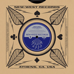 Steve Earle/Robert Johnson - Terraplane / Terraplane Blues - New Vinyl 2015 RSD Press -  w/ MP3 download limited to 5000