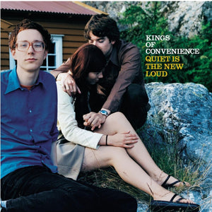 Kings of Convenience - Quiet is the New Loud - New Lp Record 2016 USA Blue Vinyl - Indie Rock / Indie Pop