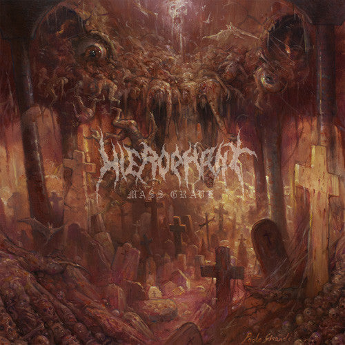 Hierophant - Mass Grave - New Vinyl 2016 Season Of Mist Underground Activists First Pressing (Limited to 400) Gatefold on Black Vinyl - Death Metal / Doom