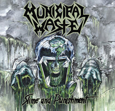 Municipal Waste ‎– Slime And Punishment - New Vinyl 2017 Nuclear Blast Pressing on 'Bottle Green' Vinyl (Limited to 2300) - Thrash / Speed Metal