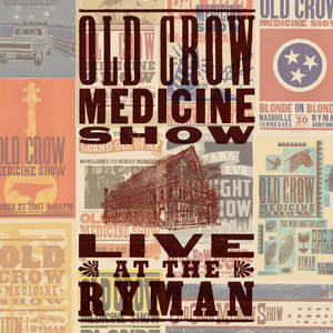Old Crow Medicine Show - Live at The Ryman - New LP Record 2019 Columbia USA Vinyl - Country