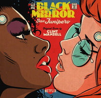 Clint Mansell ‎– Black Mirror: San Junipero (Original Score) - New Vinyl Record 2017 Lakeshore Limited Edition Colored Vinyl Pressing - Soundtrack / TV Series