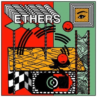 Ethers - Ethers - New Vinyl Lp 2018 Trouble in Mind Limited Edition Pressing on 'Bloody Bottle' Colored Vinyl - Chicago, IL Rock