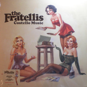 The Fratellis ‎– Costello Music - New 2018 Record LP Reissue 180gram Limited Edition Red Vinyl EU Import - Pop Rock / Indie Rock