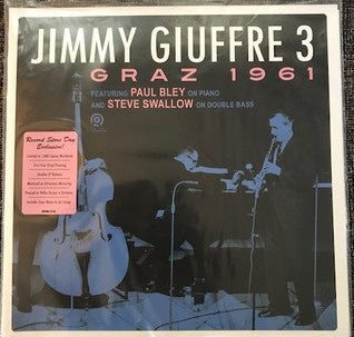 Jimmy Giuffre - Graz 1961 - New 2 Lp Record store Day 2020 Org USA RSD Vinyl - Jazz