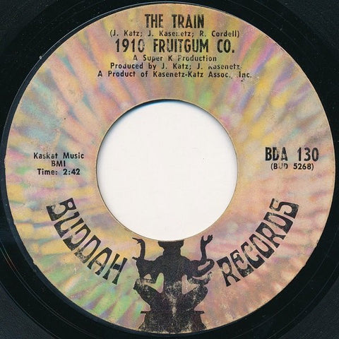 1910 Fruitgum Co.‎– The Train / Eternal Light - VG+ 45rpm 1969 USA - Pop Rock / Rock