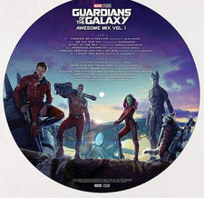 Various ‎– Guardians Of The Galaxy: Awesome Mix Vol. 1 (Original Motion Picture) - New Vinyl 2017 Hollywood Records Picture Disc - Soundtrack