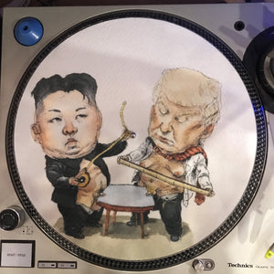 Shuga Records 2018 Limited Edition Vinyl Record Slipmat Trump Wang