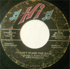 "Ann Peebles ‎– I Can't Stand The Rain / I've Been There Before VG- 7"" Single 45RPM 1973 Hi Records USA - Funk / Soul"