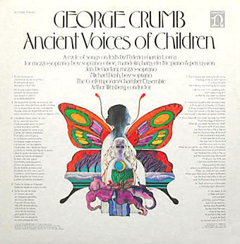 George Crumb ‎– Ancient Voices Of Children - Mint- 1971 Stereo USA - Modern Classical