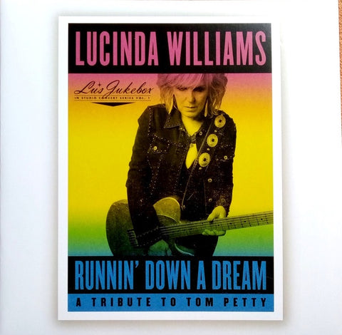 Lucinda Williams ‎– Lu's Jukebox In Studio Concert Series Vol. 1 - Runnin' Down A Dream: A Tribute To Tom Petty - New 2 Record 2021 Highway 20 USA Vinyl - Pop Rock