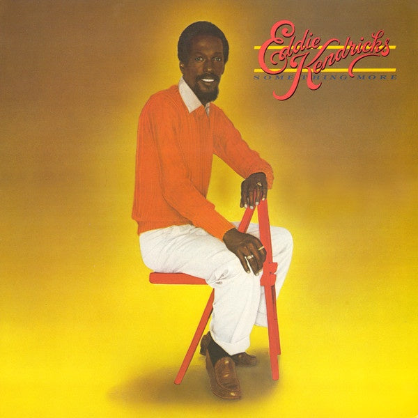 Eddie Kendricks ‎– Something More - Mint- Lp Record 1979 USA Original Vinyl - Disco