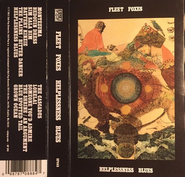 Fleet Foxes ‎– Helplessness Blues (2011) - New Cassette 2016 Sub Pop Tape - Indie Rock / Folk