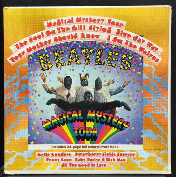 The Beatles - Magical Mystery Tour - VG- (LOW GRADE) 1967 Stereo USA Original Press - Rock