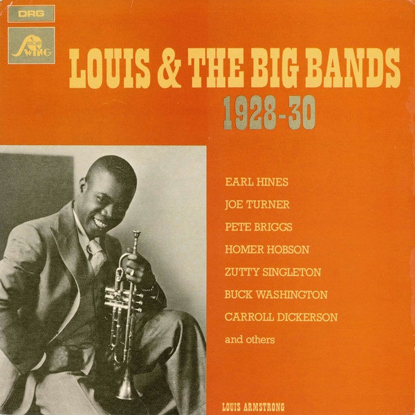 Louis Armstrong ‎– Louis & The Big Bands 1928-30 - New Lp Record 1984 Disques Swing USA Vinyl - Jazz / Dixieland