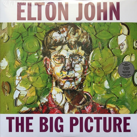 Elton John ‎– The Big Picture (1997) - New 2 Lp Record 2017 Mercury Europe Import 180 gram Vinyl & Download - Pop Rock