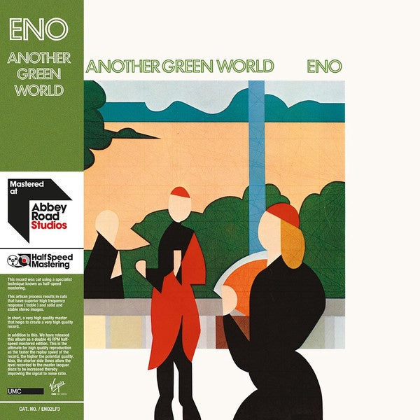 Brian Eno ‎– Another Green World (1975) - New Vinyl 2017 Virgin EMI Gatefold 2LP EU Reissue (Half-Speed Apple Road Studios Remaster) with Download - Electronic / Art Rock