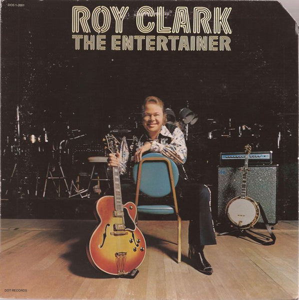 Roy Clark - The Entertainer - VG+ 1974 Stereo USA - Country