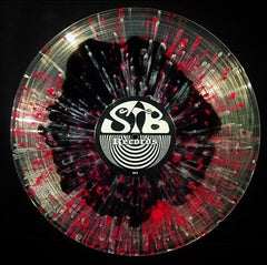 Hornss - Telepath - New Vinyl 2017 STB Records 'OBI Series #15' Limited Edition of 175 on Clear and black vinyl w/ pink and silver splatter 180gram Vinyl + Download, Insert Sheet - Doom Metal / Stoner Metal