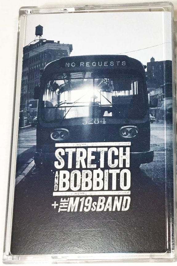 Stretch And Bobbito + The M19s Band ‎– No Requests - New Cassette Tape 2020 Uprising Music USA - Hip Hop / Latin / Jazz