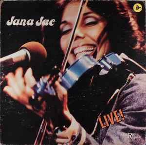 Jana Jae ‎– Live! - Mint- 1981 Stereo USA - Bluegrass/Country