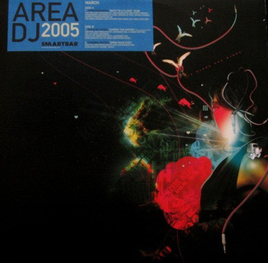 "Smartbar Chicago AREA DJ March : John Acquaviva/State Of Chaos/Common Factor - Moth To A Flame / Across The Nation / Open Your Eyes - VG+ 12"" Single 2005 USA - Chicago House/Deep House/Electro"