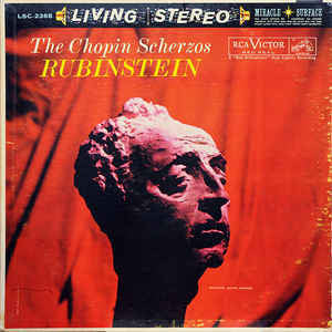 Artur Rubinstein - The Chopin Scherzos - Mint- 1960 Living Stereo (No Dog Label) - Classical/Piano
