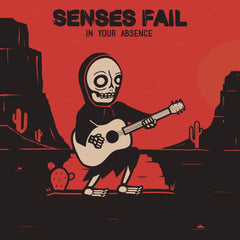 Senses Fail - In Your Absence - New Vinyl 2017 Pure Noise Records EP on Black & Maroon Vinyl (ltd to 300!!!) w/ Download - Post-Hardcore / Emo