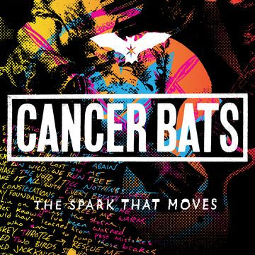 Cancer Bats ‎– The Spark That Moves - New Vinyl Lp 2018 New Damage Pressing - Hardcore