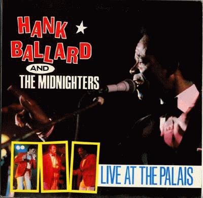 Hank Ballard And The Midnighters - Live At The Palais - VG+ 2 Lp Set 1987 - Funk/Soul