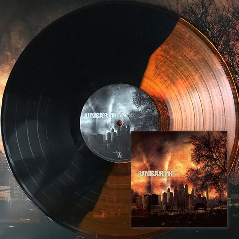 Unearth ‎– The Oncoming Storm (2004) - New LP Record 2018 Metal Blade Split God / Black Vinyl - Metalcore