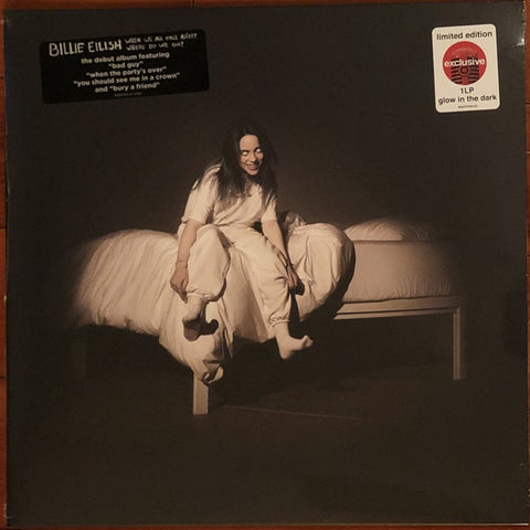 Billie Eilish ‎– When We All Fall Asleep, Where Do We Go? - New Lp Record 2019 Darkroom Target Exclusive Glow In The Dark - Indie Pop