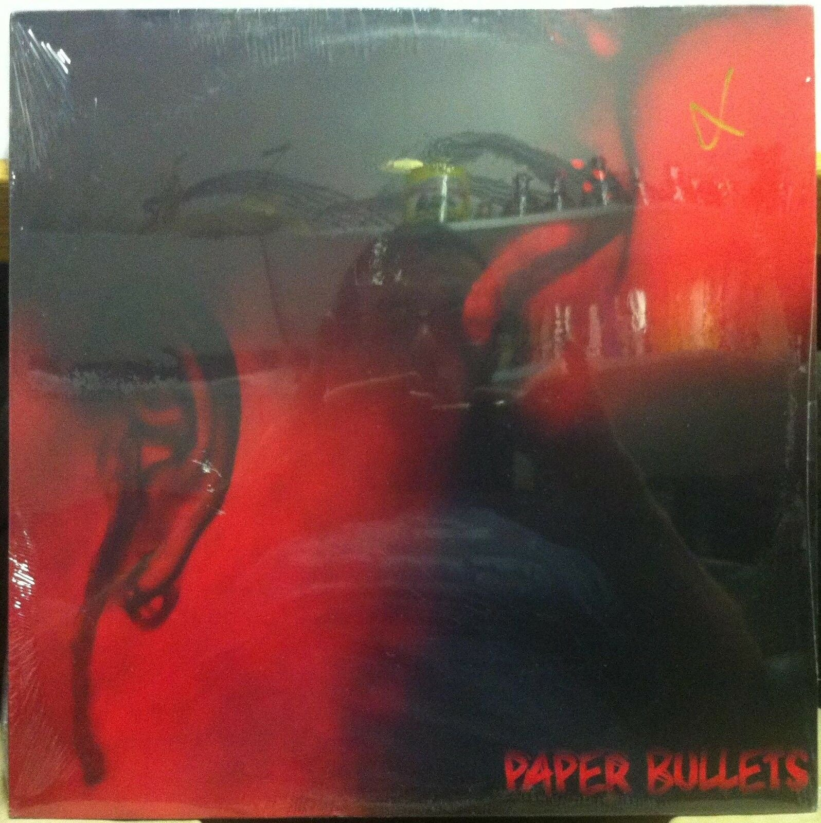 Paper Bullets ‎– Paper Bullets - New Lp Record 2005 Ear Flaw USA Unknown Color Vinyl - Chicago Punk