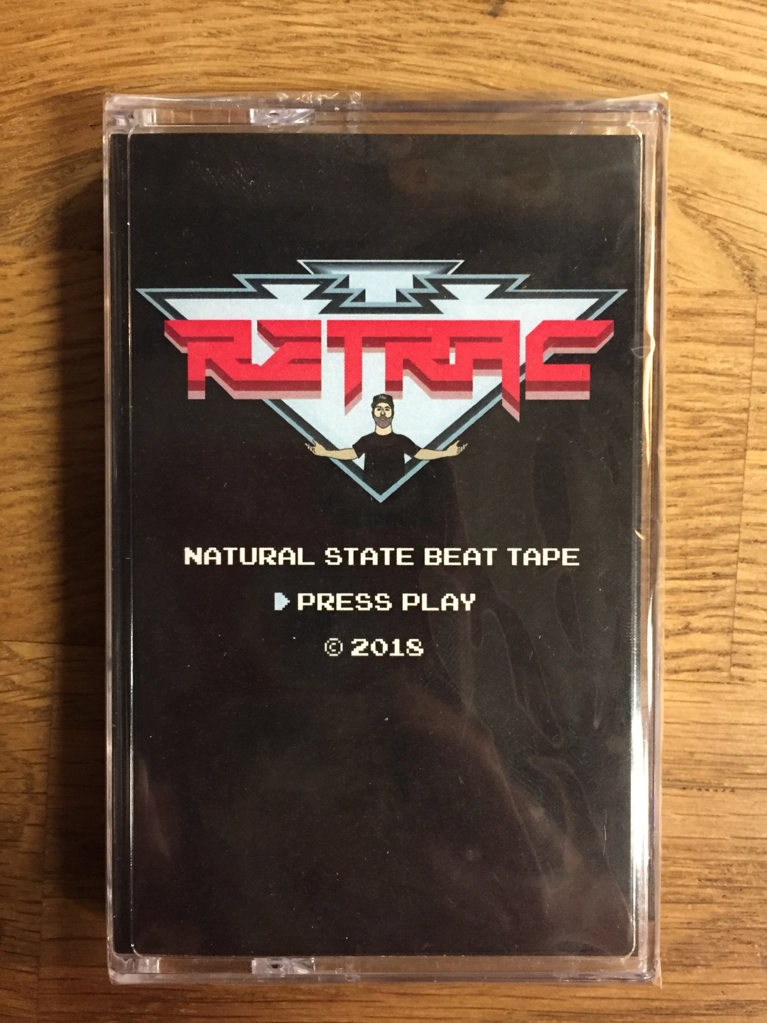 Retrac - Natural State Beat Tape - New Cassette 2018 illEKTRIK Tape - Chicago, IL Hip Hop