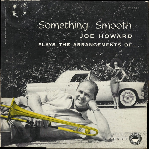 Joe Howard ‎– Something Smooth - VG- Lp Record 1955 USA Mono Original Vinyl - Jazz