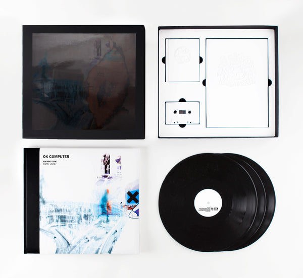Radiohead - OK Computer OKNOTOK 1997-2017 - New Vinyl 2017 XL Recordings 'Boxed Edition' 3-LP + Cassette w 30+ Artworks, Full Lyrics, 104page notebook from Thom Yorke + more! - Alt-Rock / Experimental