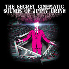 Jimmy Urine ‎– The Cinematic Sounds Of - New Vinyl 2017 End 2-LP Gatefold Compilation - Electronic / Synthwave / Chiptune