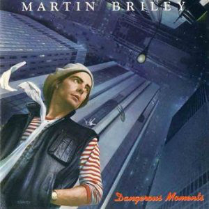 Martin Briley - Dangerous Moments - Mint- 1984 Stereo USA - Rock