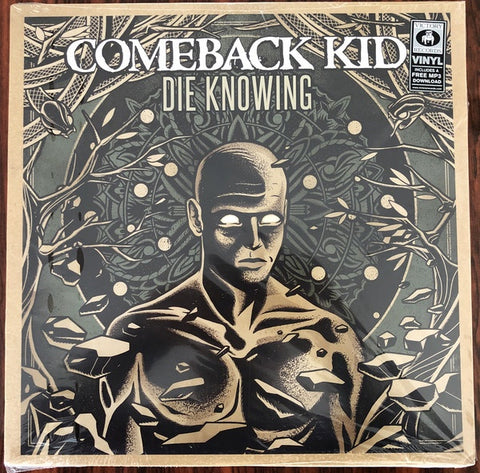 Comeback Kid ‎– Die Knowing - New LP Record 2014 Victory USA Black Vinyl & Download - Hardcore
