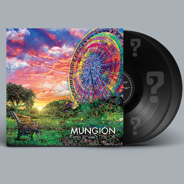 Mungion - Ferris Wheel's Day Off - New 2 Lp Record Limited Edition Colored Vinyl (Handnumbered to 250 & Signed by Band!) - Chicago Prog / Jam Band