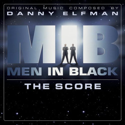Danny Elfman / Soundtrack ‎– Men In Black: The Score - New Vinyl 2017 Enjoy The Ride Records Pressing on 'Galaxy Splatter' Vinyl (Limited to 500!) - 90's Soundtrack