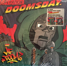 MF Doom - Operation: Doomsday (1999) - New Vinyl 2016 Metal Face 2-LP Original Cover Reissue with Poster - Hip Hop