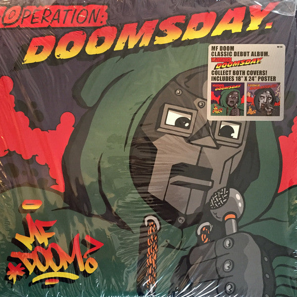 MF Doom - Operation: Doomsday (1999) - New Vinyl Record 2016 Metal Face 2-LP Original Cover Reissue with Poster - Hip Hop