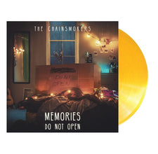 The Chainsmokers ‎– Memories...Do Not Open - New Vinyl 2017 Disrupter / Columbia Limited Edition 'Translucent Gold' Vinyl Pressing with Embossed Gatefold Jacked and Download - Electronic / Synth Pop / EDM
