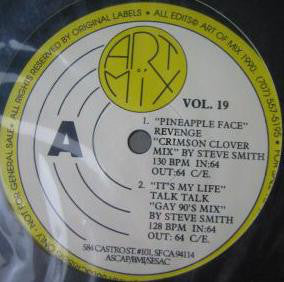 "Various - Art Of Mix Vol. 19 VG+ - 12"" Single 1990 Art Of Mix USA - Synth-Pop"