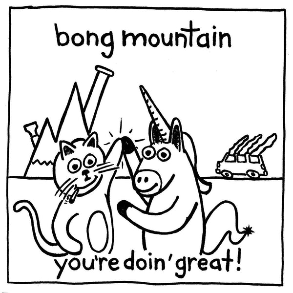 Bong Mountain - You're Doin' Great! (for the record) - New Vinyl 2016 Stonewalled LP + Booklet, Download - Punk / Pop-Punk