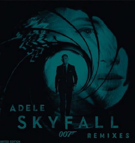 Adele ‎– Skyfall Remixes - New EP Record 2012 German Import Random Colored Vinyl - Pop / Soundtrack