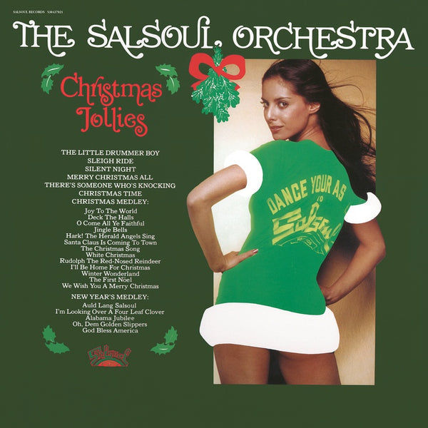The Salsoul Orchestra ‎– Christmas Jollies - New Vinyl Lp 2018 BMG Reissue on Red Vinyl - Holiday / Disco